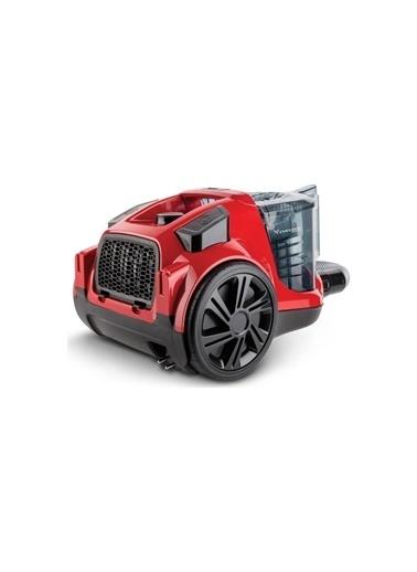 Fakir Ranger Elektronik Toz Torbasız Süpürge Kırmızı 41003461 Kırmızı